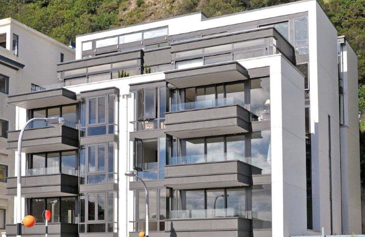 Oriental apartments jma decorators for 136 the terrace wellington